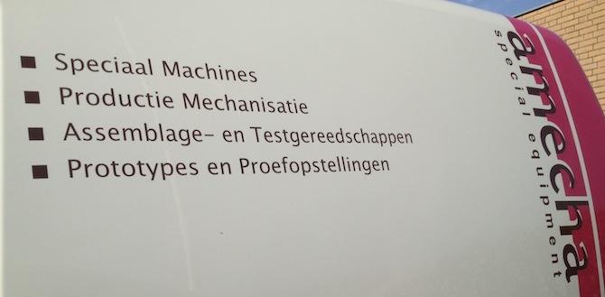 Amecha al 10 jaar meester in machinebouw